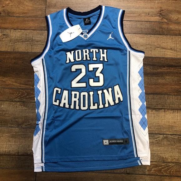 new arrival 73ce6 e9634 NWT Michael Jordan UNC Tar Heels NCAA Jersey NWT